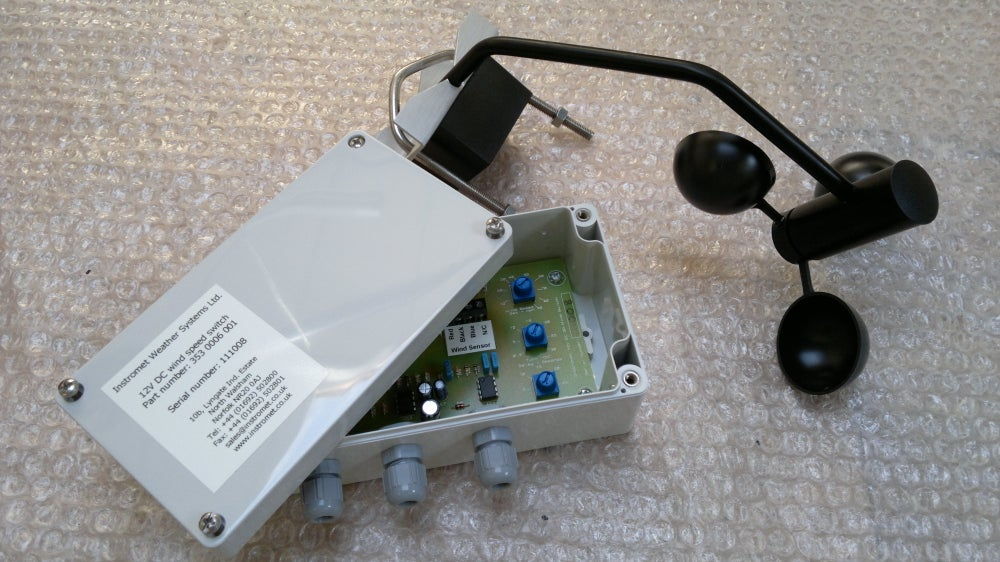 Image of 12v DC wind speed switch