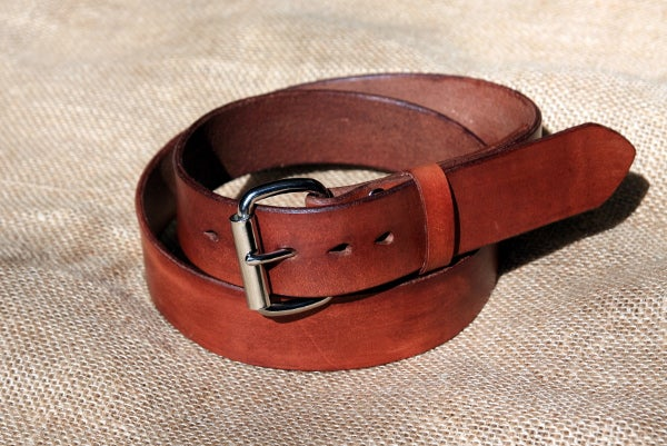 Image of Made-to-Measure Leather Belt