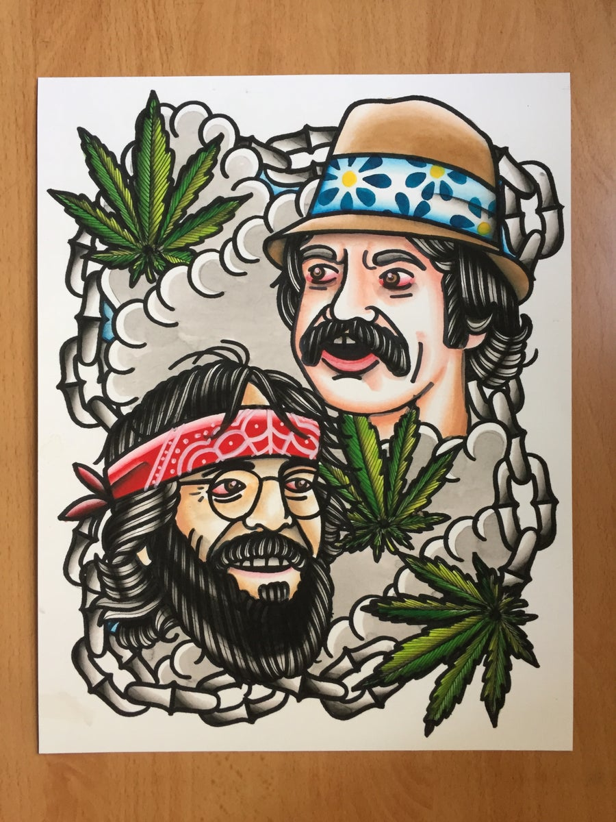 "Image of ""Up in Smoke"" Print"