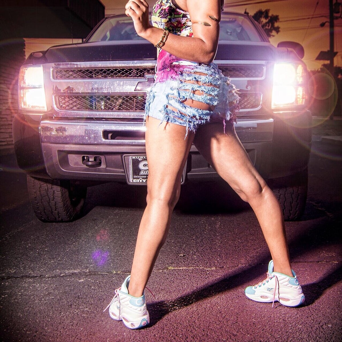 Image of CottonCandy Very Risky Shorts