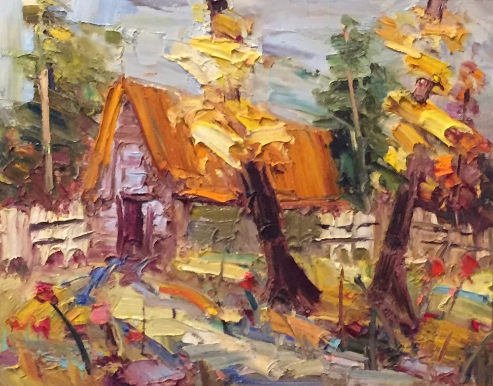 Image of Annie Mom's Cottage - 16x20