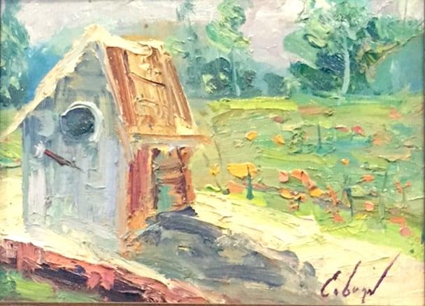 Image of Birdhouse - 9x12