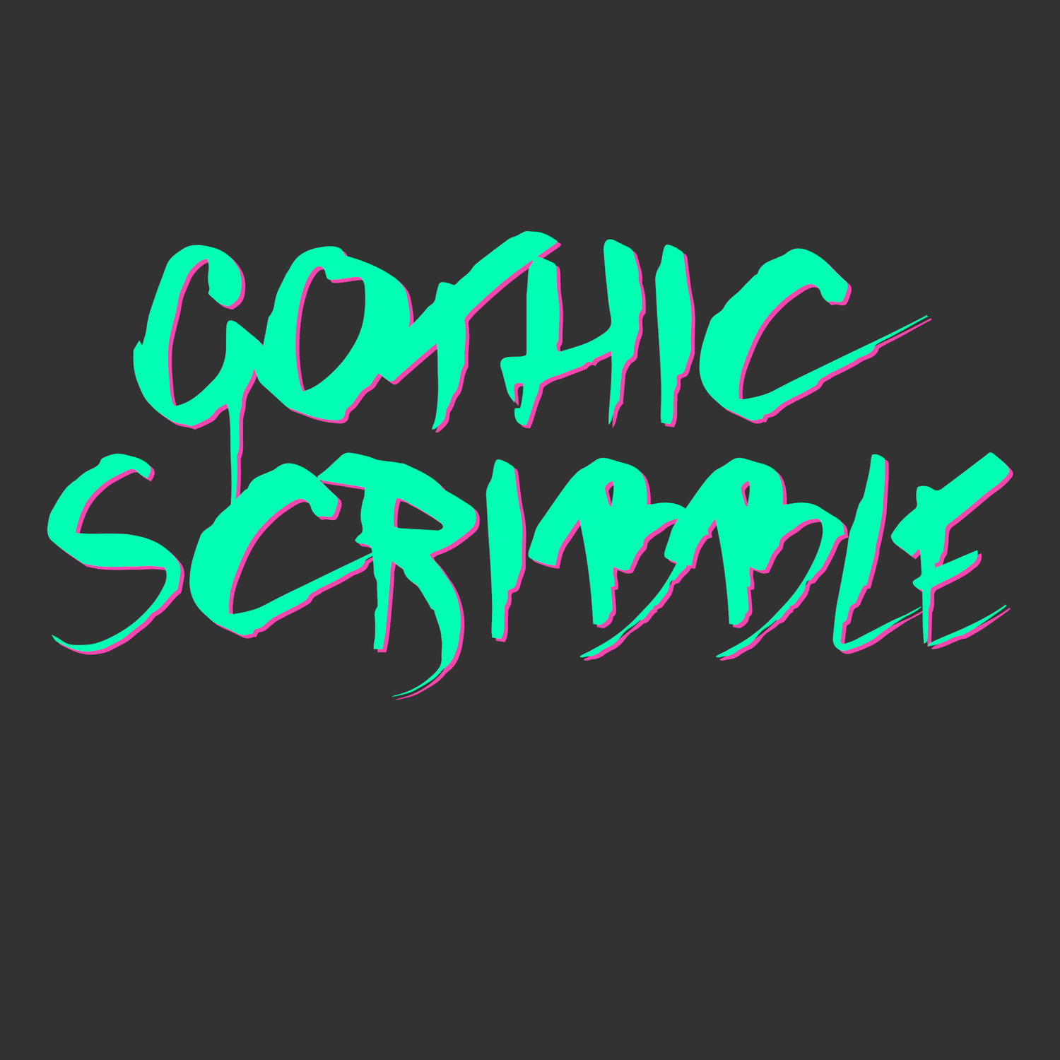 Image of Gothic Scribble