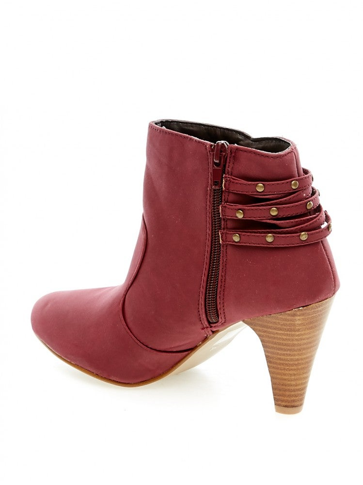 Image of Booties Anna Field Ankle plum