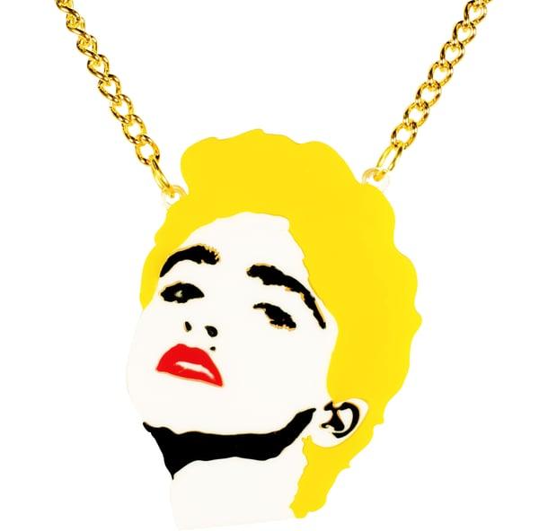 Madonna Necklace  - Black Heart Creatives