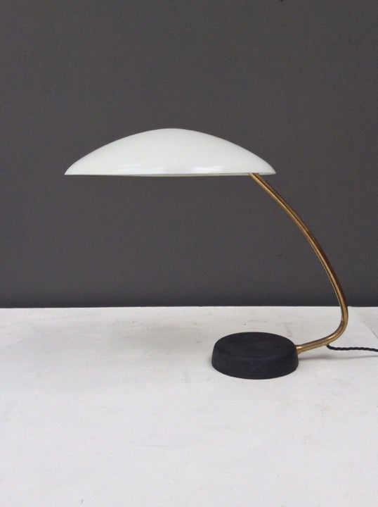 Image of 1950s Flying Saucer Desk Lamps