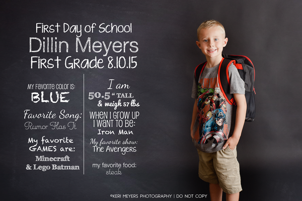 Image of KMP Back to School Template $10