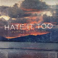 Image of Hate It Too - Purple Mountains - 2015