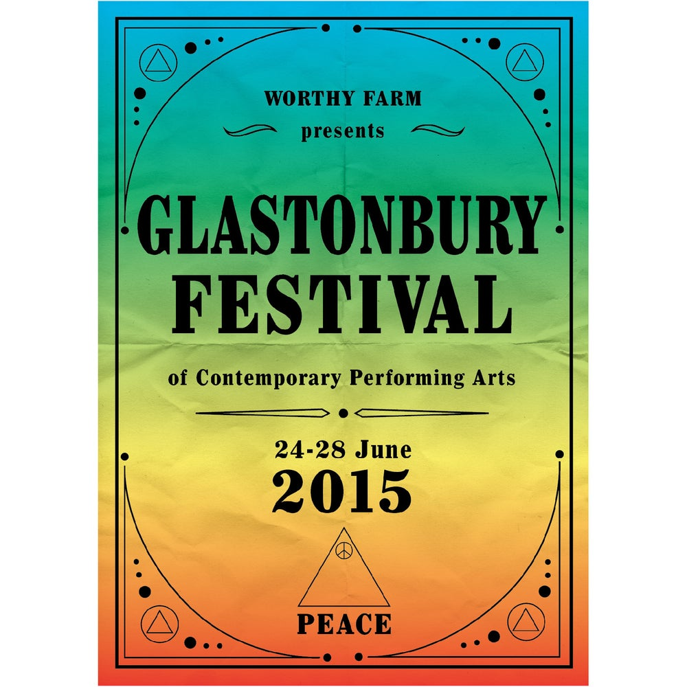 Image of Limited Edition Glastonbury Rainbow Days 2015