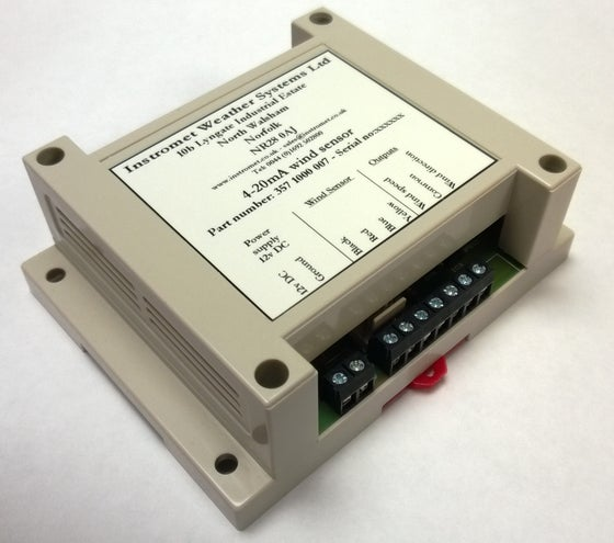 Image of 0-10v DC Wind Sensor