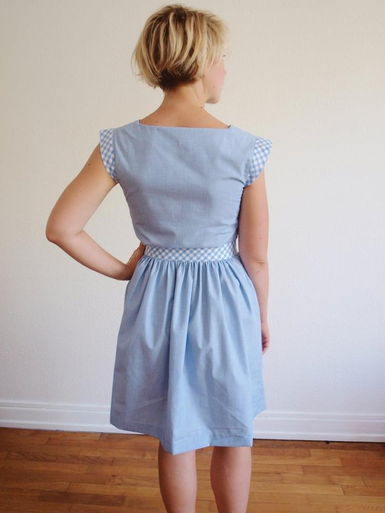 Image of Patron PDF robe et blouse Gloria