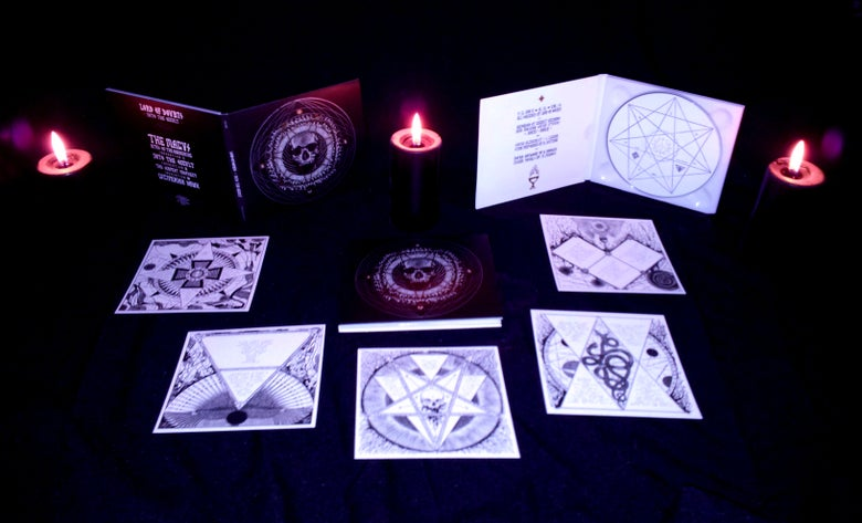 "Image of LORD OF DOUBTS ""Into The Occult"" digi-CD"