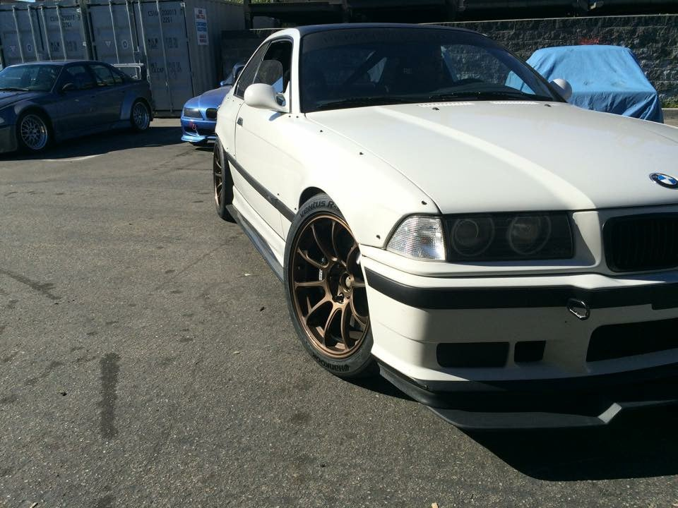 Image of E36 Coupe Overfender - Front -