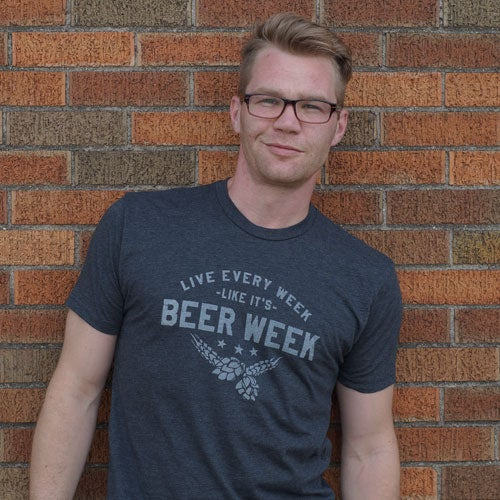 Image of Live Every Week Like It's Beer Week - Drink Nation, Men's