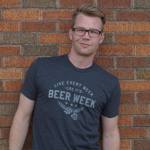 Image of Live Every Week Like It's Beer Week - Drink Nation, Men's