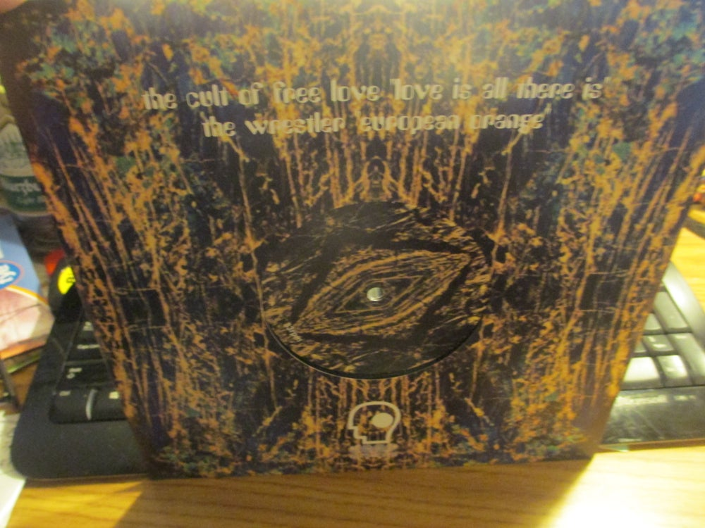 """Image of The Cult Of Free Love/The Wrestler Split 10"""" Deep Distance"""