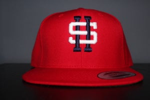Image of SKNDLS HOUSTON SNAPBACK -RED
