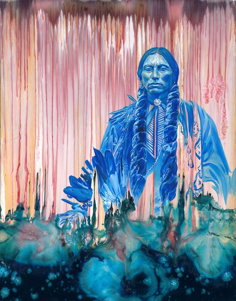 """Image of """"Quanah Parker"""" Giclée Print"""