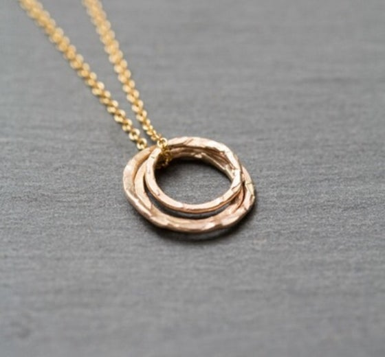 Image of Ana 9ct gold necklace