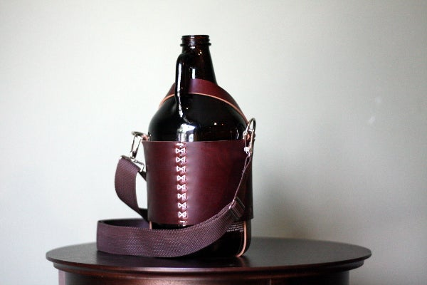 Image of Growler Carrier in Horween Chromexcel