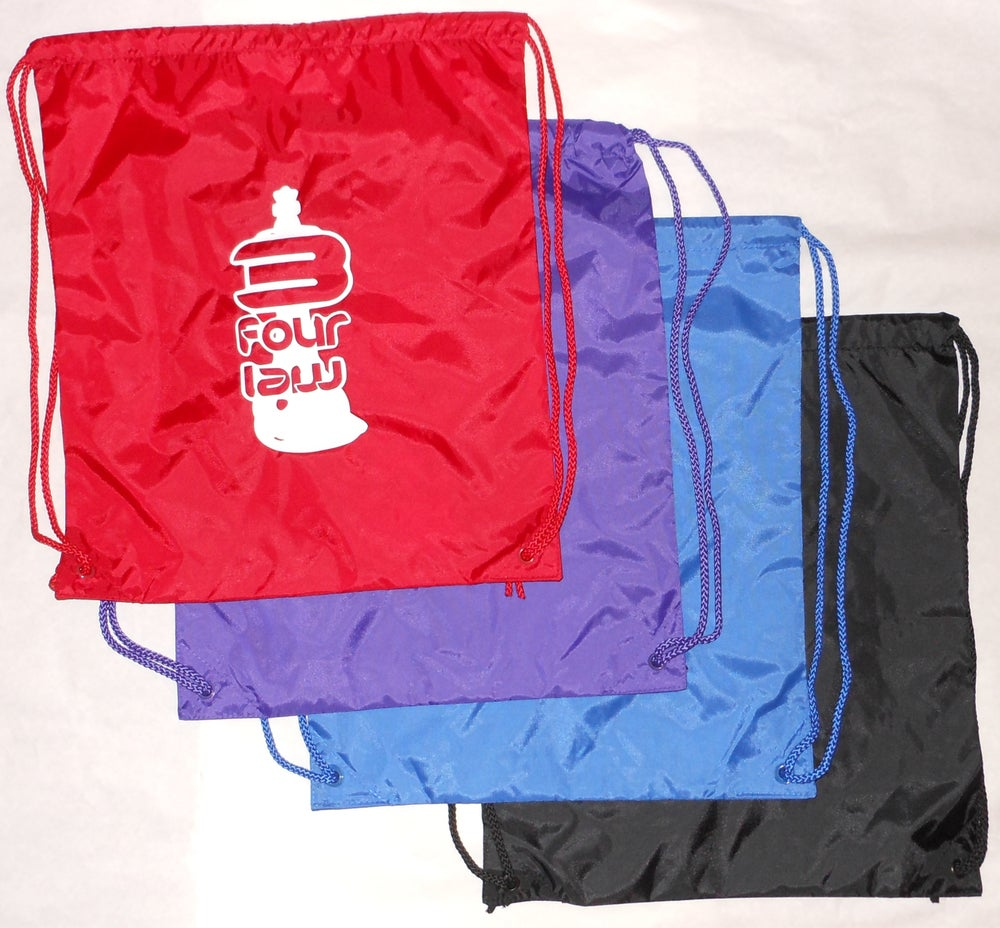 Image of 3 Four Law Drawstring Backpacks