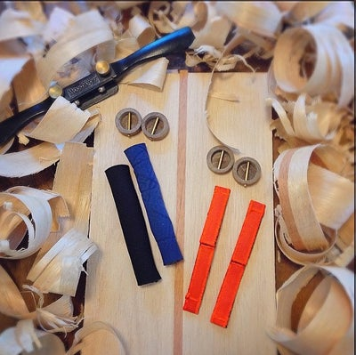 Image of DIY Handplane Kit - Blank