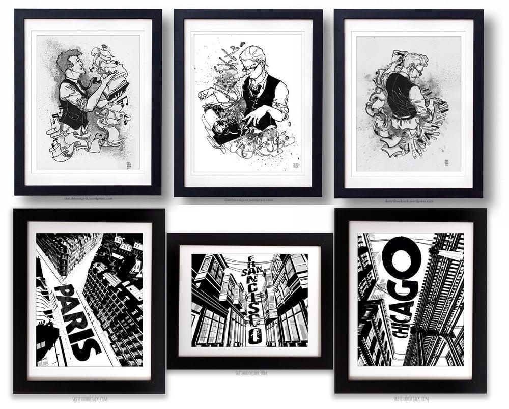Image of Sketchbook Jack Art Prints