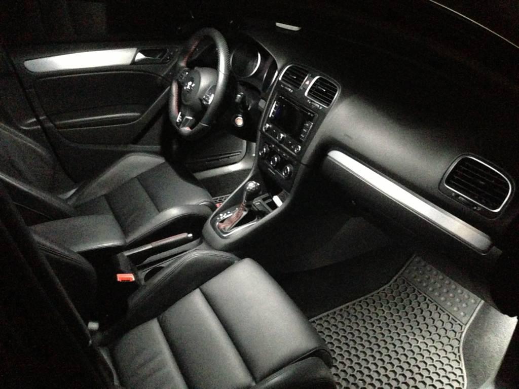 Image of 11pc Complete Interior LED Kit ERROR FREE Fits: 09-up Volkswagen MK6 GTI/Golf