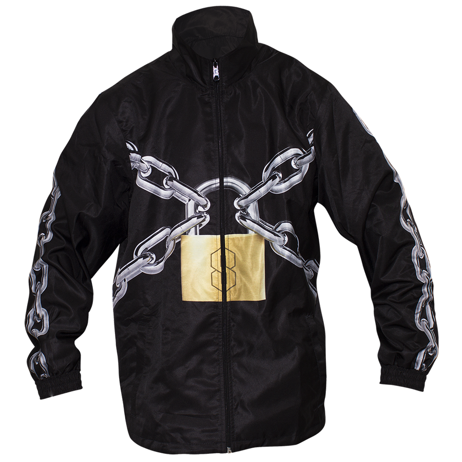 Image of LOCKED UP BLACK JACKET