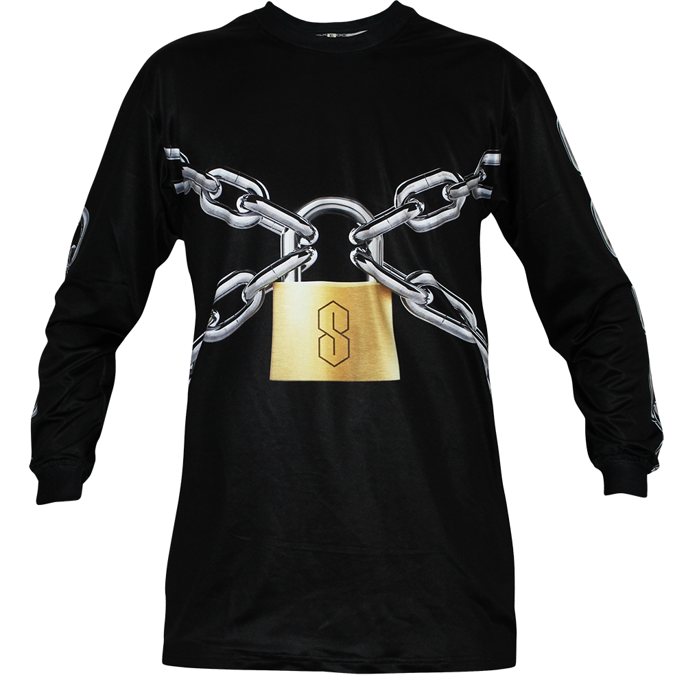 Image of LOCKED UP BLACK LONG SLEEVE