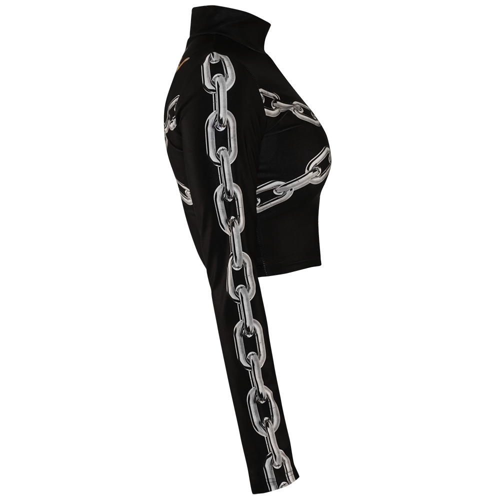 Image of LOCKED UP BLACK TURTLENECK