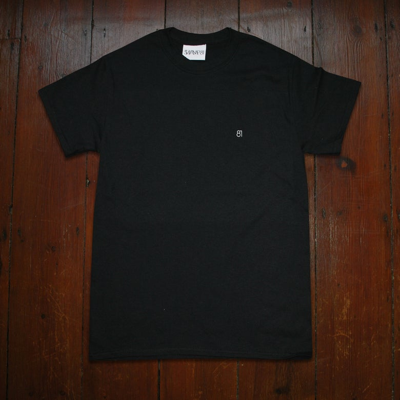 Image of 81 STAFF TEE BLACK