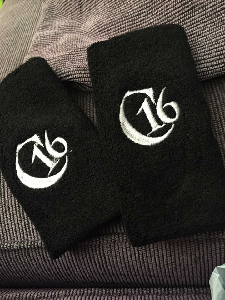 Image of Custom Embroidered Wristbands