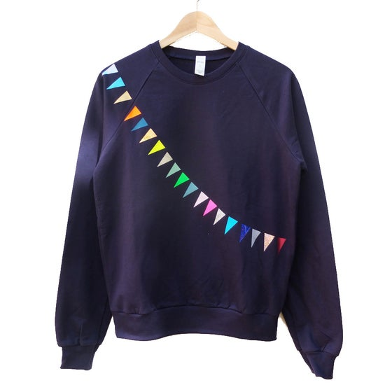 Image of Sweater Garland navy ADULTS