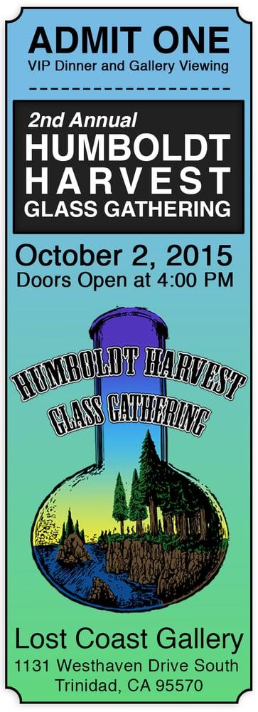 Image of Humboldt Harvest Glass Gathering VIP Ticket