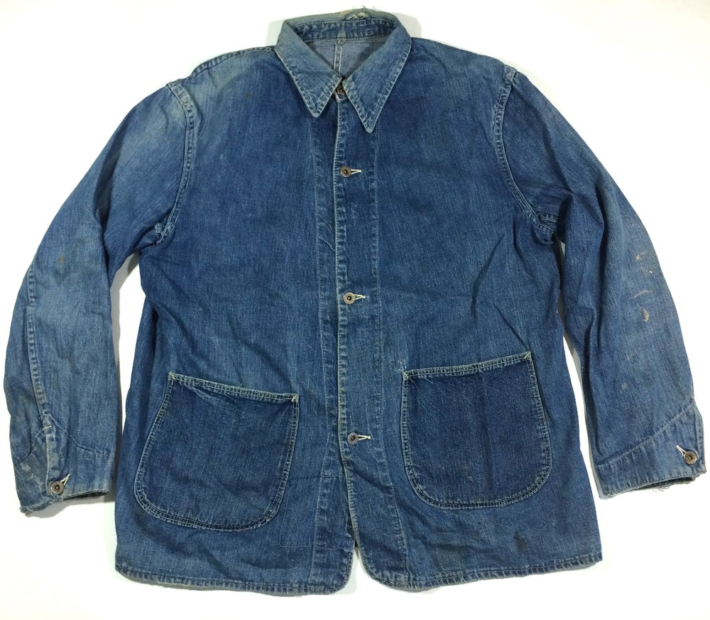 Image of WWII DENIM CHORE JACKET