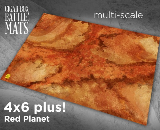 Image of Red Planet -- 4'x6' plus -- #210