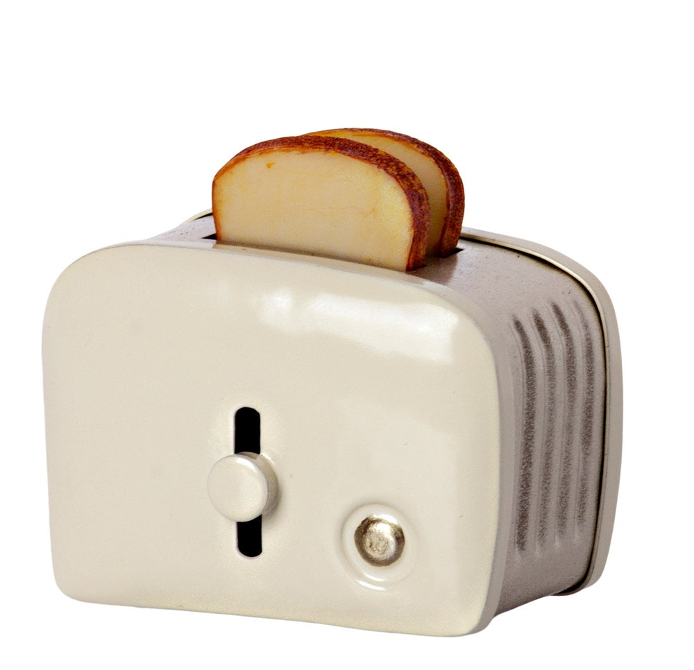 Image of Maileg - Miniature Toaster Off White (Pre-order)
