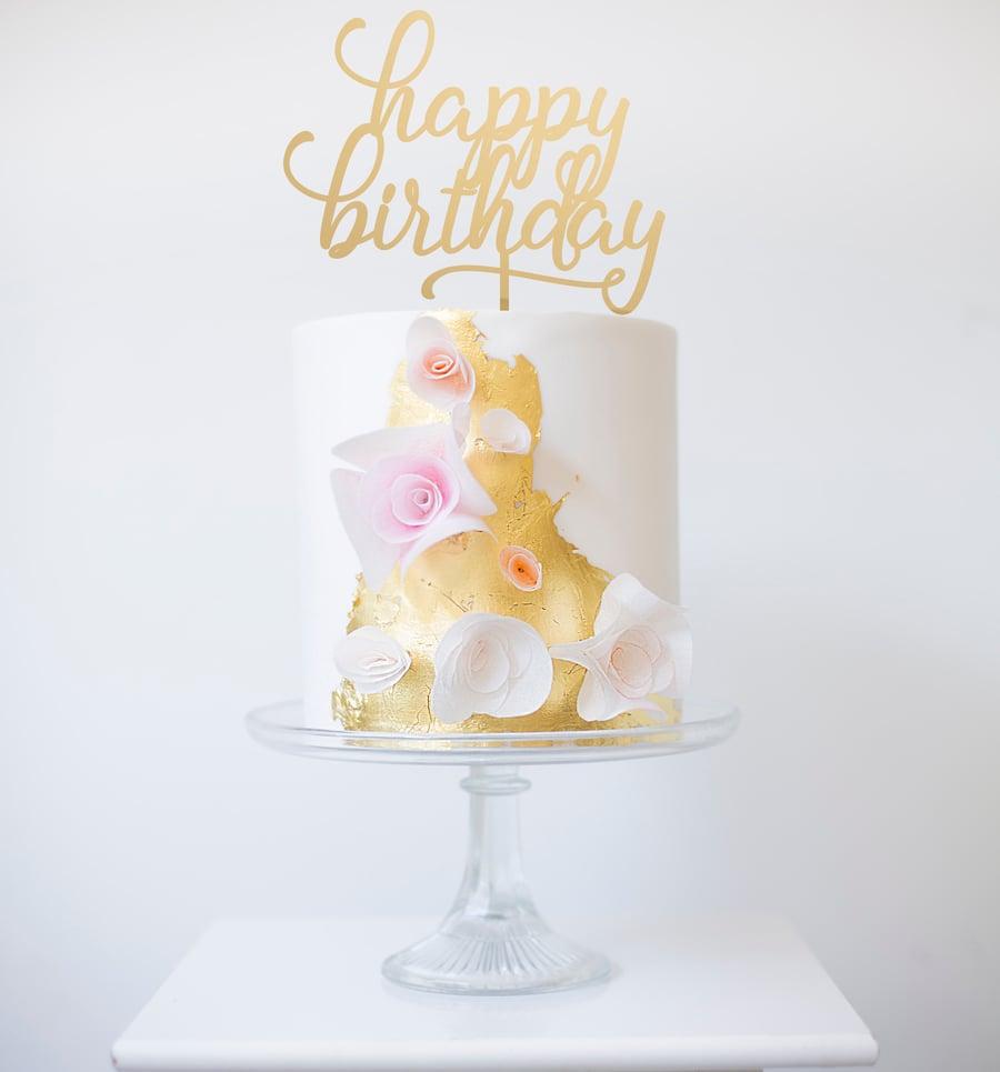 Image of Happy Birthday Swash