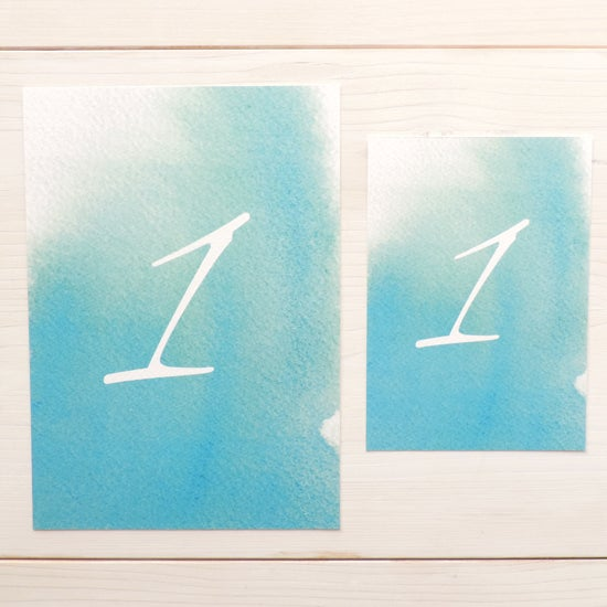 Image of Love Haze Table Number