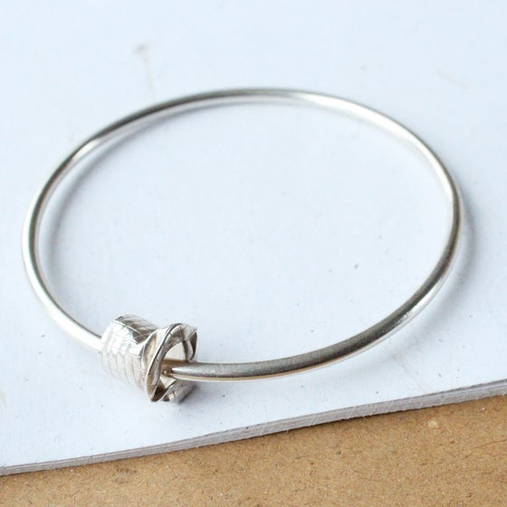 Image of In Motion Silver Bangle