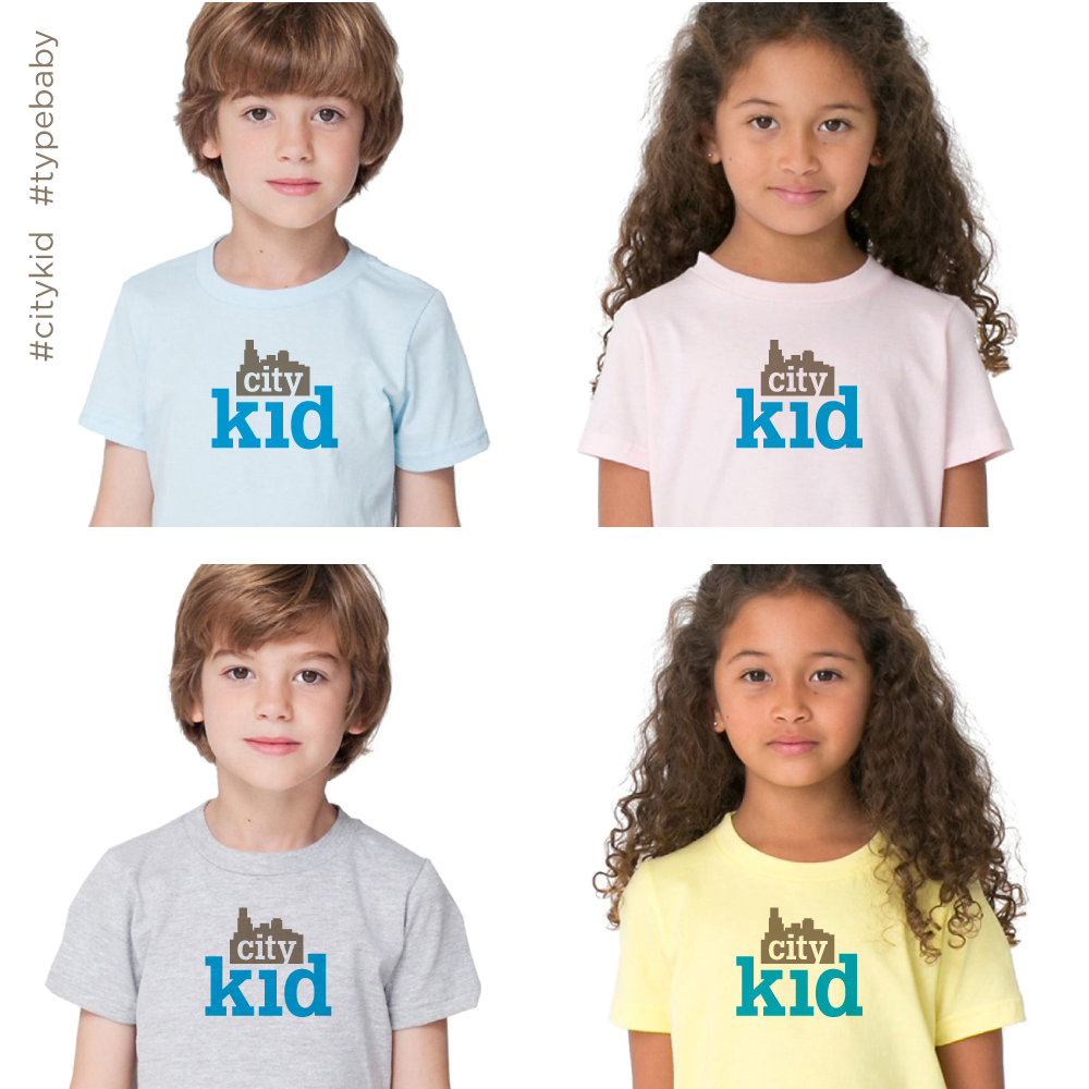 Image of City Kid toddler & kids tee custom order | Chicago IL