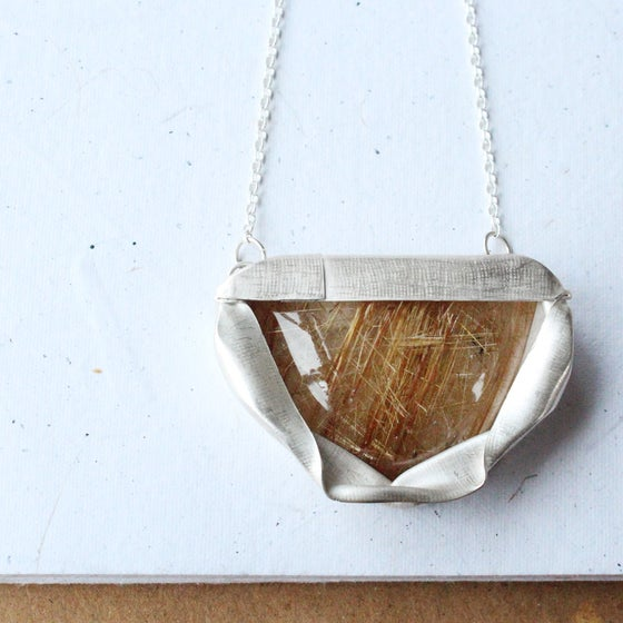 Image of Rutilated Quartz Pendant