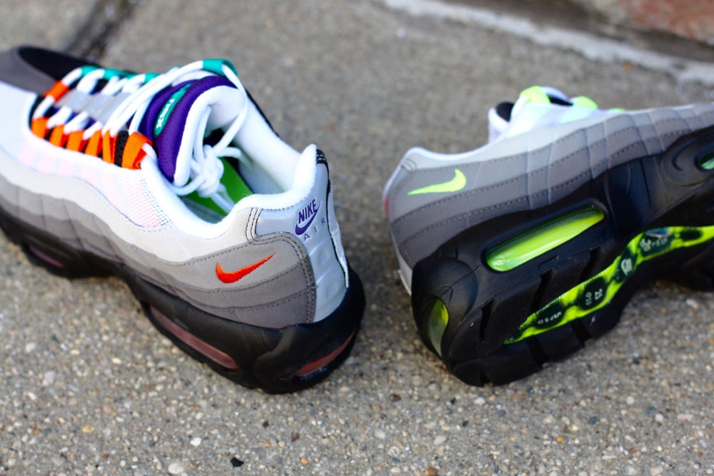 "Image of AIR MAX 95 ""GREEDY"" WHAT THE 95"