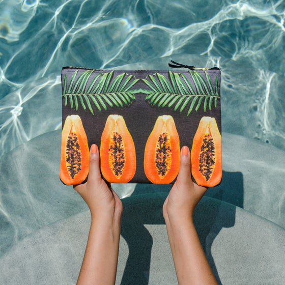 Image of BLACK PAPAYA Pouch