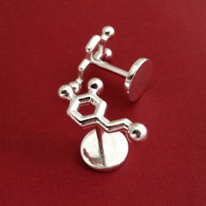 Image of dopamine cufflinks