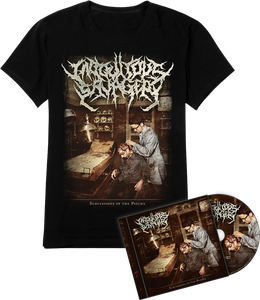 Image of PACKAGE DEAL - Subversions of the Psyche T-Shirt/CD
