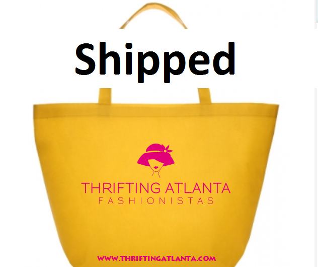Image of Thrifting Atlanta Tote Bag (Shipped to your location)