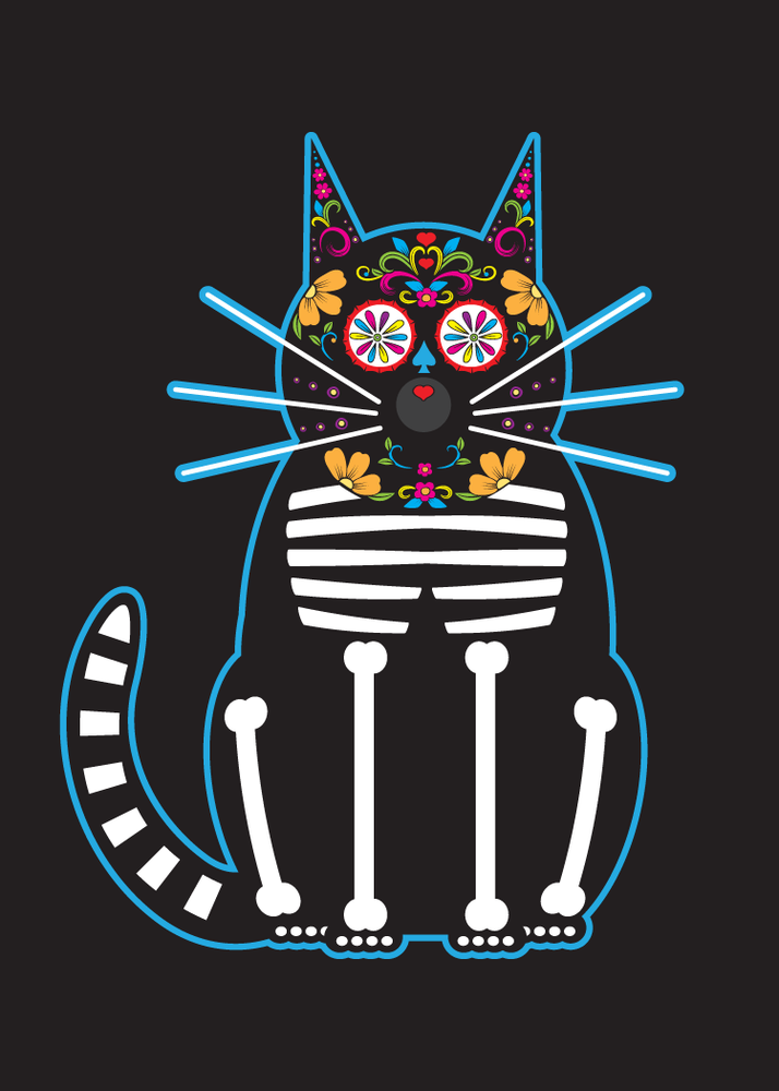 Image of Day of the Dead Cats Collection