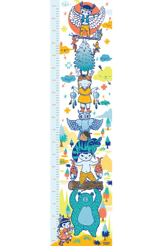 Image of 40% OFF Totemly Totem Height Chart